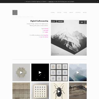 cunicode - Digital Craftsmanship - Design for 3D Print