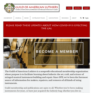 Guild of American Luthiers - Guild of American Luthiers