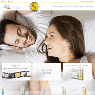 pjurmed.com- pjur med - lubricants for sexual health and wellbeing made in germany
