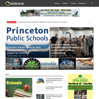 Front Page - centraljersey.com