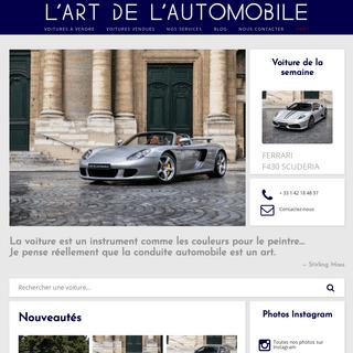 L'art de l'automobile - Voitures de luxe d'occasion
