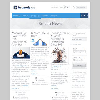 Bruceb News