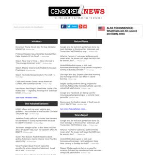 Censored.News - The pro-liberty alternative to Drudge