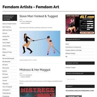 Femdom Artists - Femdom Art - Femdom Art- F-m Drawings, Pictures, Artwork, Paintings, Comics, Cartoons