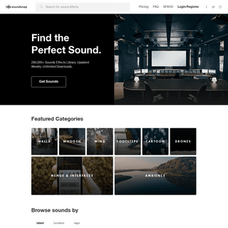 Download Sound Effects - Soundsnap Sound Library