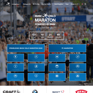 BMW Oslo Maraton - Norges største gateløp!