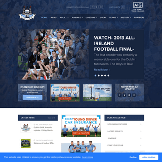 Dublin GAA - Official Website
