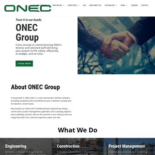 ONEC Group of Companies - A Complete EPC and EPCM Service Provider