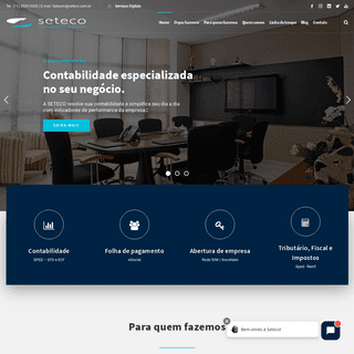 A complete backup of seteco.com.br