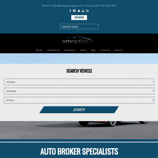 Auto Broker - Best Leasing Deals - Omega Auto Group