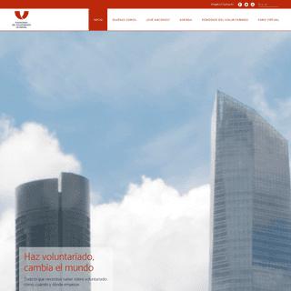 Haz Voluntariado, cambia el mundo - Plataforma del Voluntariado de España