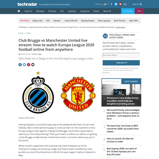 ArchiveBay.com - www.techradar.com/news/club-brugge-vs-manchester-united-live-stream-how-to-watch-europa-league-2020-football-online-from-anywhere - Club Brugge vs Manchester United live stream- how to watch Europa League football online from anywhere right now - TechRadar