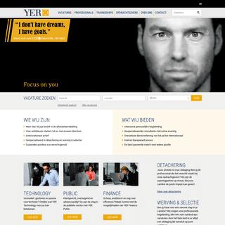 Detachering en Werving & Selectie - YER.nl