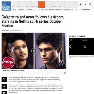 ArchiveBay.com - calgaryherald.com/entertainment/television/calgary-raised-panreet-akilla-follows-his-dream-to-principal-role-on-netflix-sci-fi-adventure-october-faction - Calgary-raised actor stars in Netflix sci-fi adventure October Faction - Calgary Herald