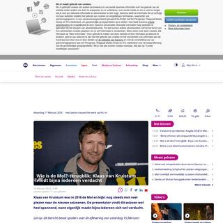 ArchiveBay.com - www.nu.nl/media/6031206/wie-is-de-mol-terugblik-klaas-van-kruistum-vindt-bijna-iedereen-verdacht.html - Wie is de Mol--terugblik- Klaas van Kruistum vindt bijna iedereen verdacht - NU - Het laatste nieuws het eerst op NU.nl