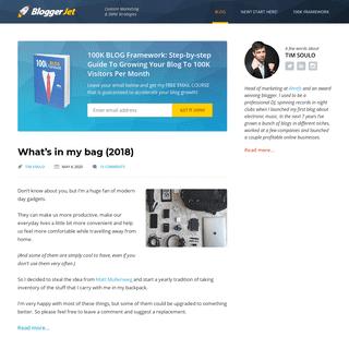 ArchiveBay.com - bloggerjet.com - BloggerJet - Content Marketing & SMM Strategies