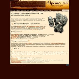 ArchiveBay.com - alpenrouten.de - Alpenpässe, Schotterpisten und andere Ziele (nicht nur) für Motorradfahrer - Alpen-Motorrad-Guide