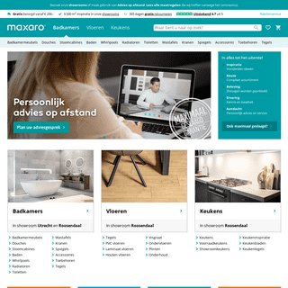 Badkamer, Vloeren & Keuken specialist - Maxaro