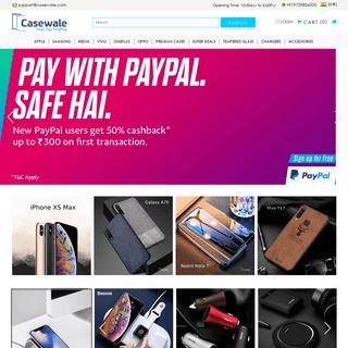Casewale.com - 100- Unique Designs Mobile Cases & Covers