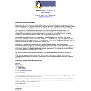 ArchiveBay.com - linuxforen.de - Linuxforen Startseite, User helfen Usern. Das wahrscheinlich beliebteste Deutsche Linuxforum