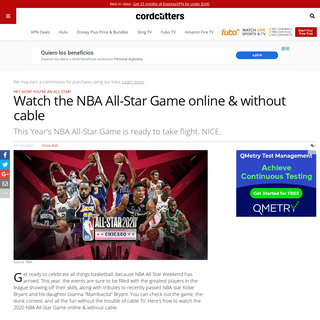ArchiveBay.com - www.cordcutters.com/watch-nba-all-star-game-online-without-cable - Watch the NBA All-Star Game online & without cable - CordCutters