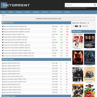 GkTorrent.io- Télécharger sur GkTorrent Officiel