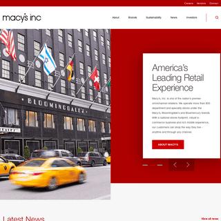 Macy's, Inc. (M)
