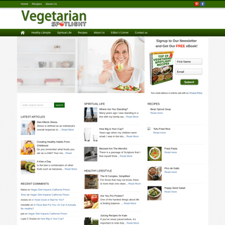 Vegetarian Spotlight Magazine