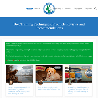 ArchiveBay.com - k9deb.com - Dog Training Techniques, Products Reviews and Recommendations – K9deb.com