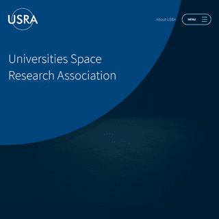 Universities Space Research Association - USRA