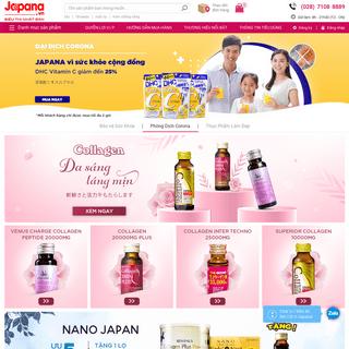 JAPANA Vietnam™ - Siêu thị Nhật Bản hàng đầu Việt Nam