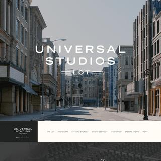 Universal Studios Lot