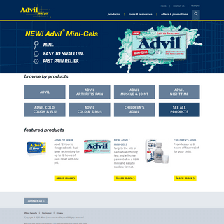 Advil Canada - Advil and go.