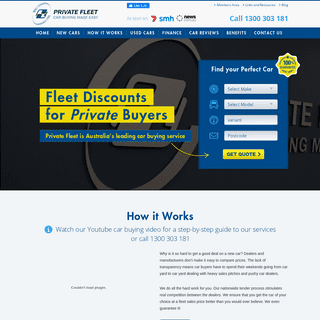 Buy a Discounted New Car - Private Fleet