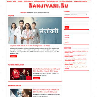 Sanjivani Star Plus Serial Watch Full Episodes Online