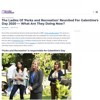 ArchiveBay.com - www.cheatsheet.com/entertainment/ladies-parks-and-recreation-reunited-galentines-day-2020.html/ - The Ladies Of 'Parks and Recreation' Reunited For Galentine's Day 2020 -- What Are They Doing Now-