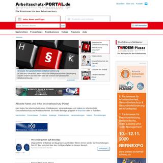 Das Arbeitsschutz-Portal- Infos und News zur Arbeitssicherheit