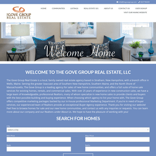 The Gove Group Real Estate - Raising The Standard of Real Estate