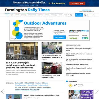 Farmington Daily Times- Breaking news, Sports, Business, Entertainment, Opinion