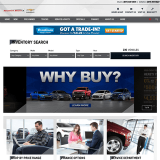 Rountree Moore Chevrolet Dealership - New & Used Cars in Lake City, FL