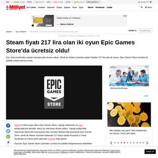 ArchiveBay.com - www.milliyet.com.tr/teknoloji/oyun-haberleri/steam-fiyati-217-lira-olan-iki-oyun-epic-games-storeda-ucretsiz-oldu-6149667 - Steam fiyatı 217 lira olan iki oyun Epic Games Store'da ücretsiz oldu!