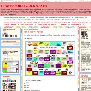 PROFESSORA PAULA MEYER