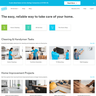 House Cleaning & Handyman Services - Handy