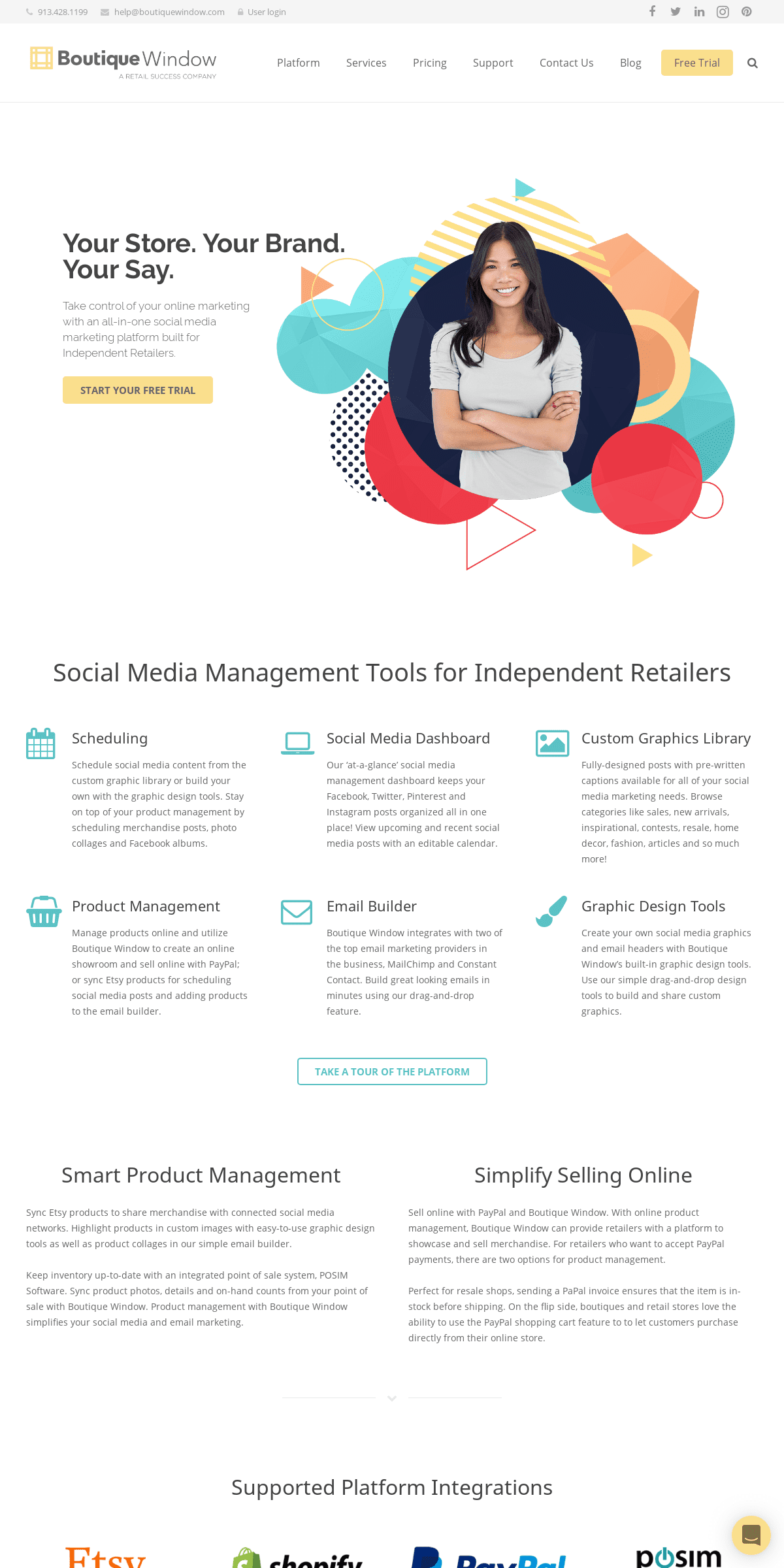 Social Media Management Tools for Independent Retailers