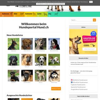 DER HUND - Hundeportal - Bilder, Hundezüchter & Hundeschulen für deinen Hund finden