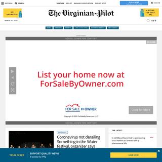 The Virginian-Pilot- Breaking News from Hampton Roads - Latest news from Hampton Roads - The Virginian-Pilot