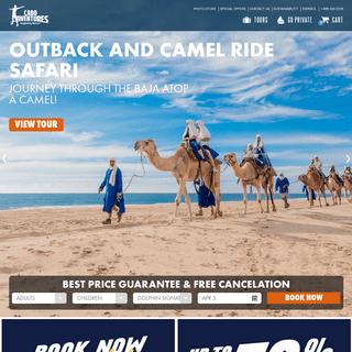Cabo Adventures - Swim with Dolphins - ATV Tours - Zip Line Tours