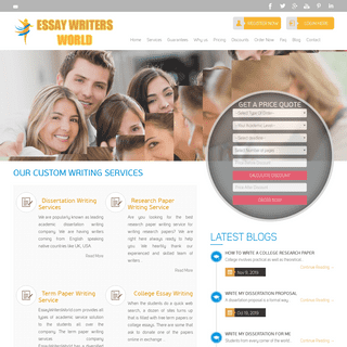Custom Essay Writing - High Quality Essay Writing Services USA, UK