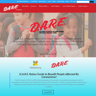 D.A.R.E. America - Teaching Students Decision-Making for Safe & Healthy Living