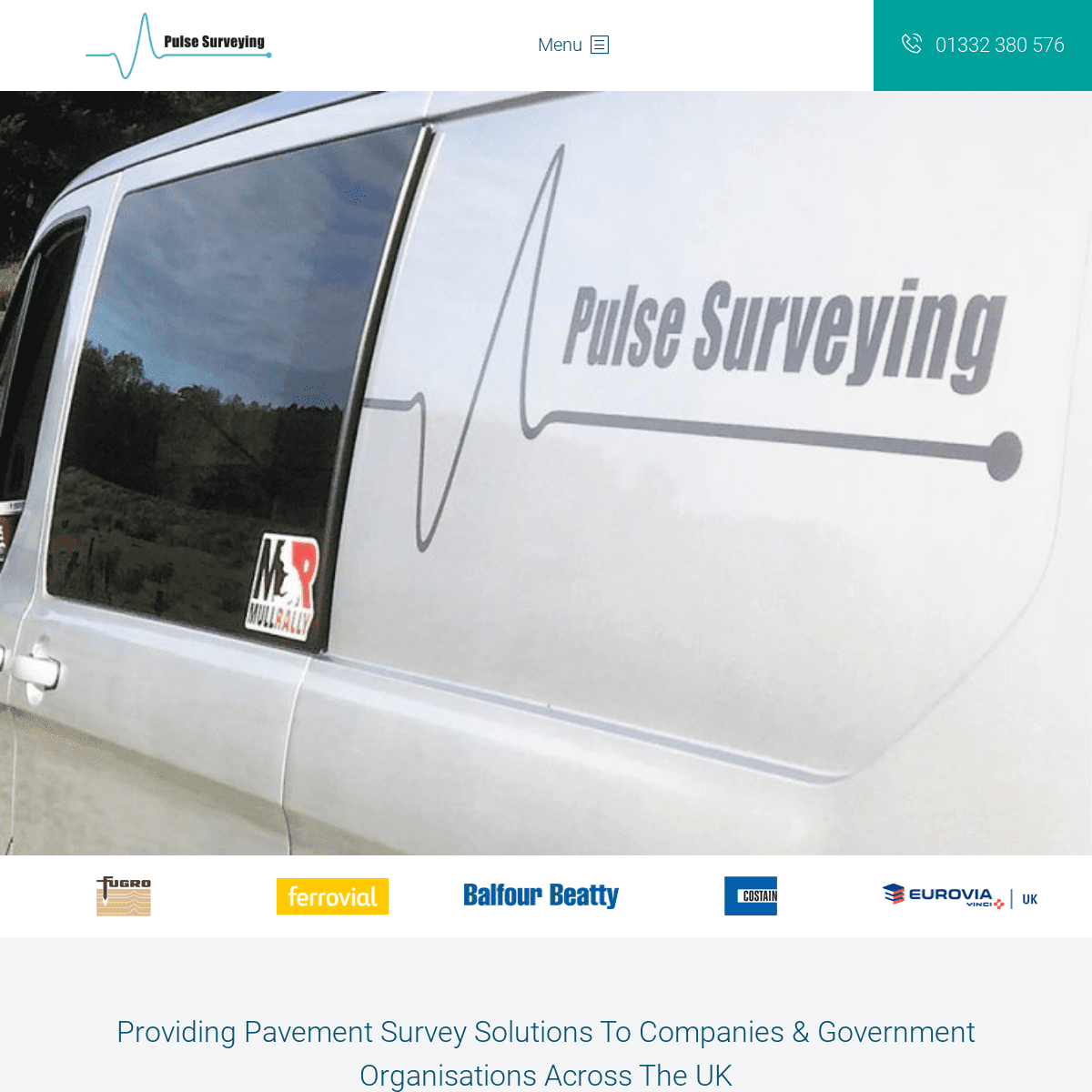 Pulse Surveying – GPR & FWD Testing